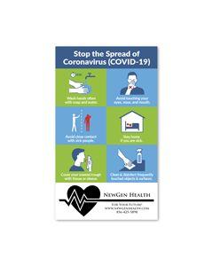 COVID-19 Info Magnet