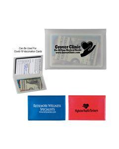 2 Pocket Vaccine Card Holder